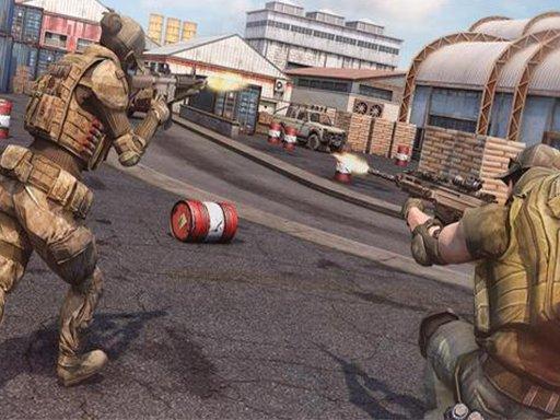 Juega Army Commando Shooting Adventure juego
