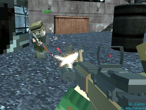 Juega Pixel GunGame Arena Prison Multiplayer juego