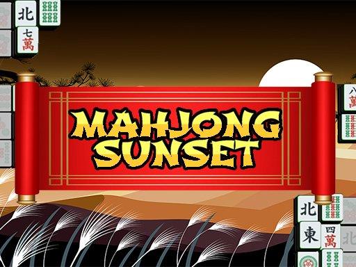 Juega Mahjong Sunset juego