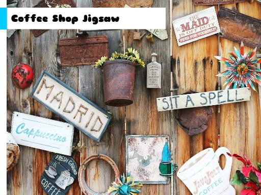 Juega Coffee Shop Jigsaw juego