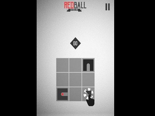 Juega Red Ball Puzzle juego