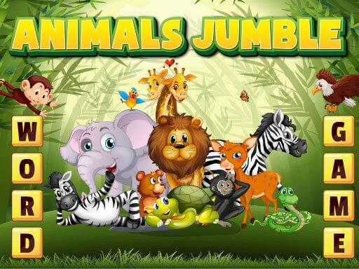 Juega Animals Jumble juego