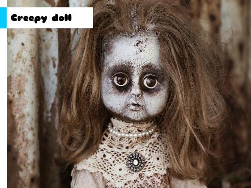 Juega Creepy Doll Jigsaw juego