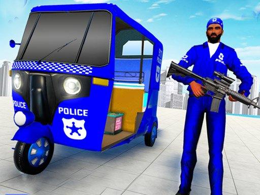 Juega Police Auto Rickshaw Drive juego