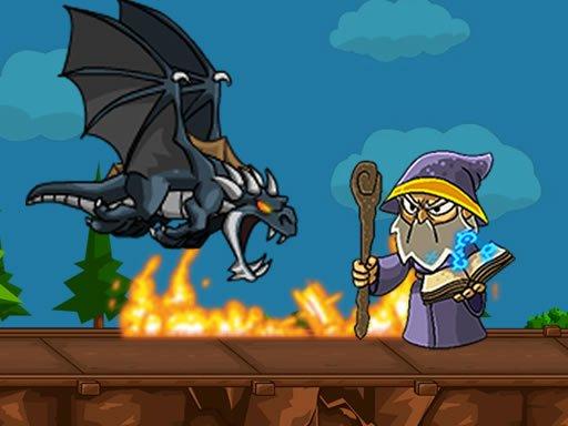 Juega Dragon vs Mage juego