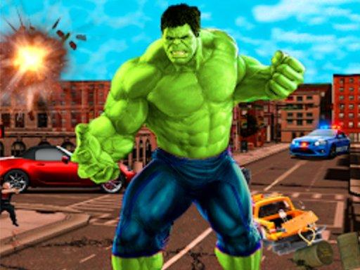 Juega Incredible City Monster Hunk Hero Survival juego