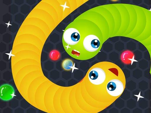 Juega Snake.IO : Angry Slither Worm juego