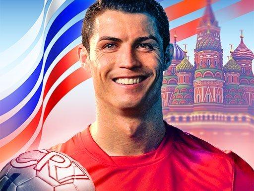 Juega Ronaldo Kick Run juego