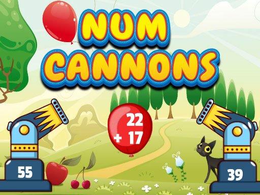 Juega Num Cannons juego