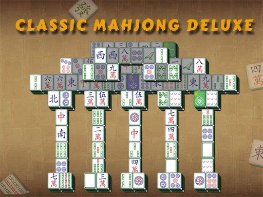 Juega Classic Mahjong Deluxe juego