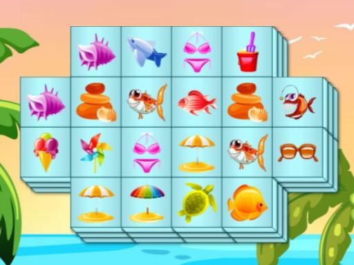 Juega Summer Mahjong juego