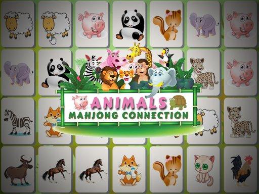 Juega Animals Mahjong Connection juego
