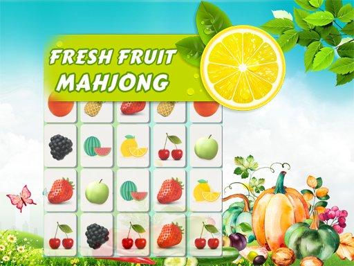 Juega Fresh Fruit Mahjong Connection juego