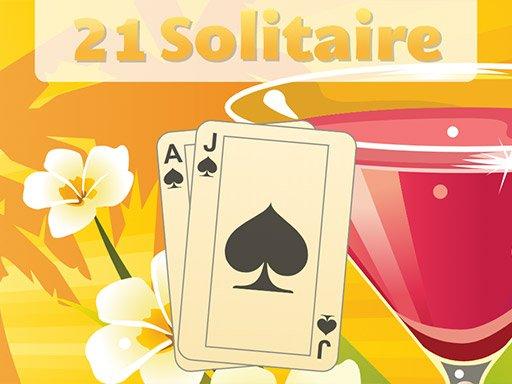 Juega 21 Solitaire juego
