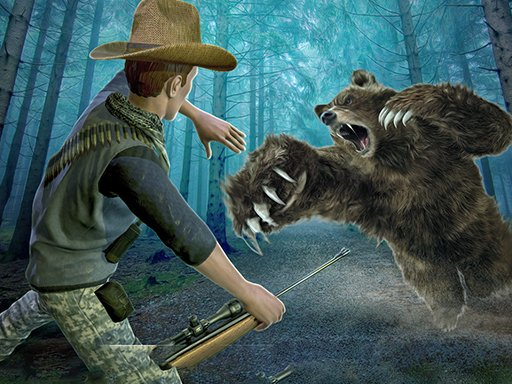 Juega Wild Bear Hunting Sniper Shooting juego