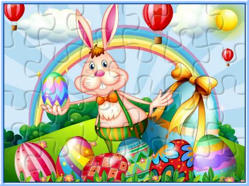 Juega Easter Jigsaw Deluxe juego