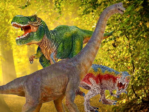 Juega World of Dinosaurs Jigsaw juego