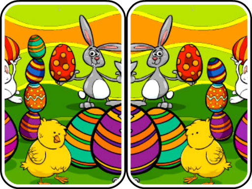 Juega Easter Differences juego