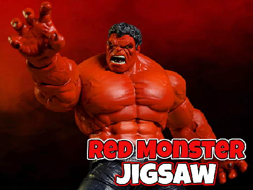 Juega Red Monster Jigsaw juego