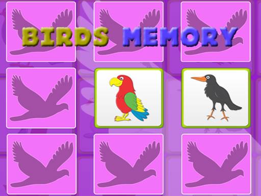 Juega Kids Memory Game – Birds juego