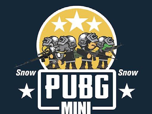 Juega PUBG Mini Snow Multiplayer juego