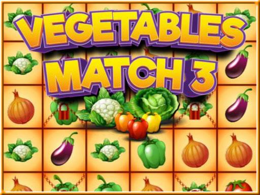 Juega Vegetables Match 3 juego