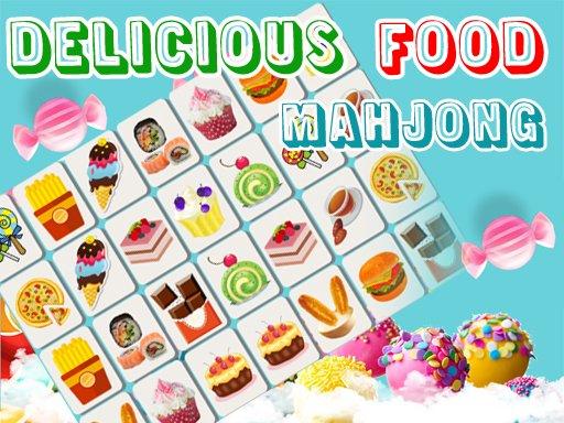 Juega Delicious Food Mahjong Connects juego