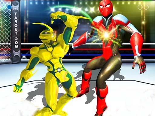 Juega Robot Ring Fighting Wrestling juego