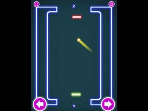 Juega Pong Neon juego