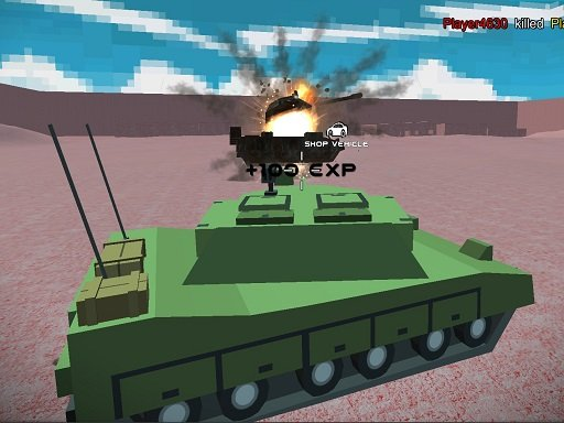Juega Helicopter And Tank Battle Desert Storm Multiplaye juego