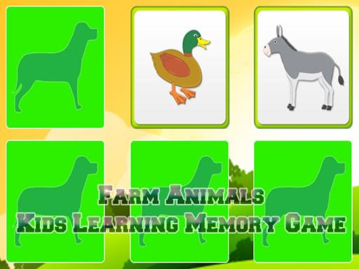 Juega Aprendiendo animales de granja juego
