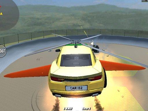 Juega Supra Crash Shooting Fly Cars juego