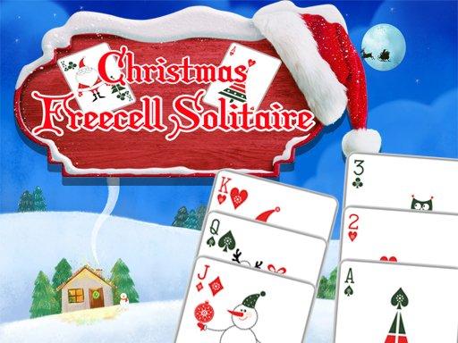 Juega Christmas Freecell Solitaire juego