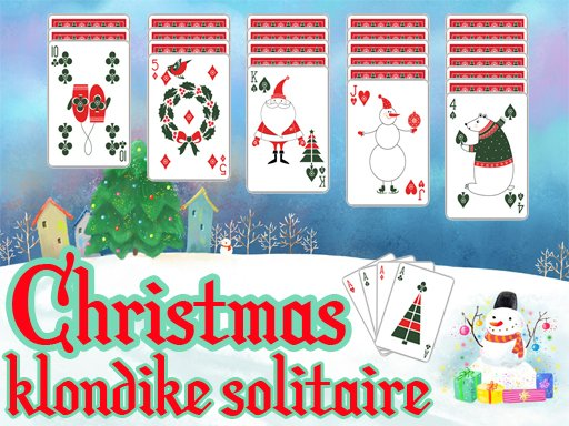 Juega Christmas Klondike Solitaire juego