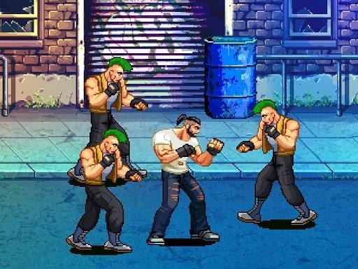 Juega Beat Em Up Street Fight 2D juego
