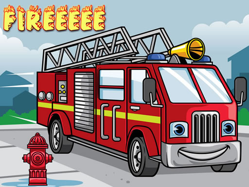 Juega Fire Truck Jigsaw juego