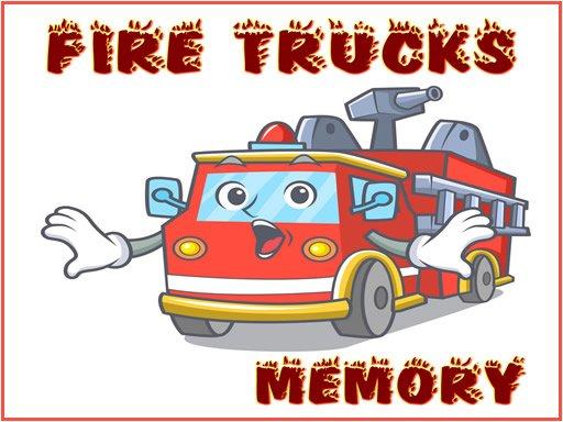 Juega Fire Trucks Memory juego