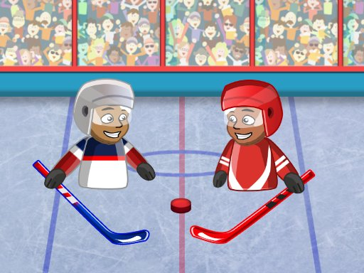 Juega Puppet Hockey Battle juego