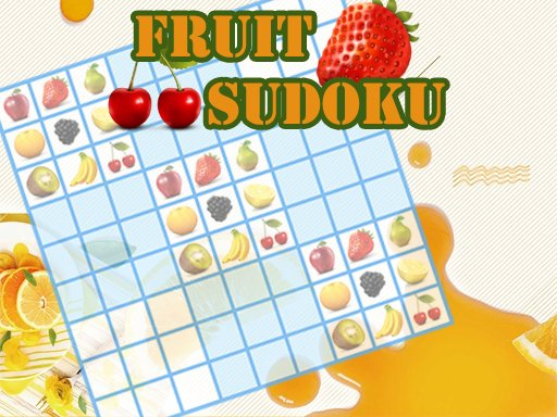 Juega Fruit Sudoku juego