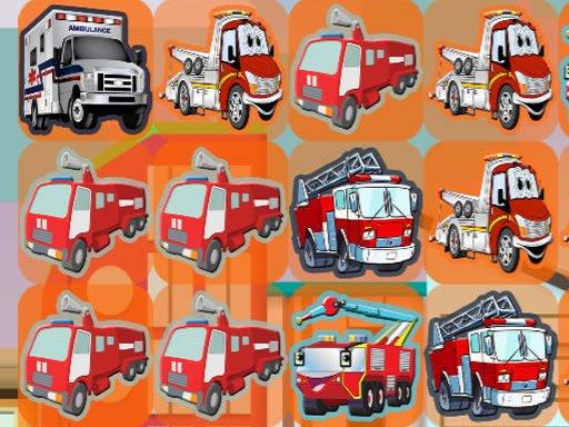 Juega Emergency Trucks Match 3 juego
