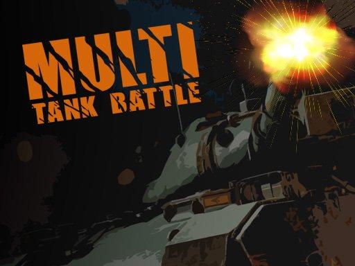 Juega Multi Tank Battle Io juego