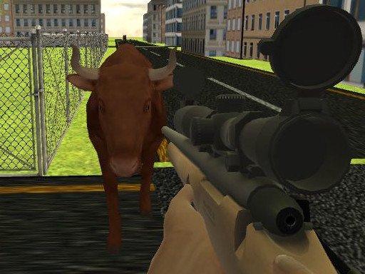 Juega Angry Bull Shooter juego