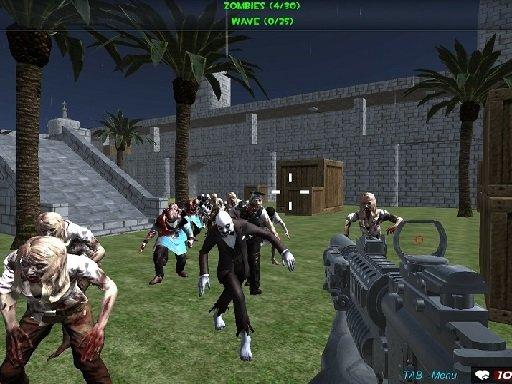 Juega Shooting Zombie FPS Xtreme Good vs Bad Boys juego