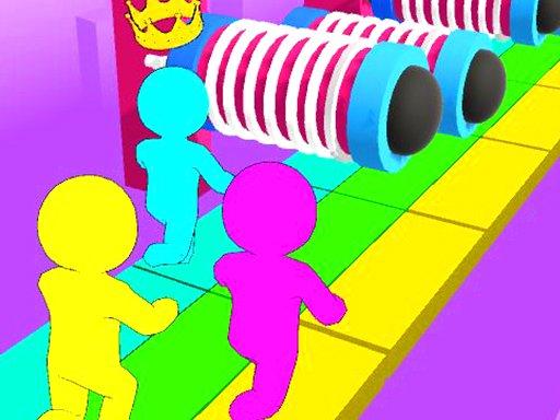 Juega Crowd Run Race juego