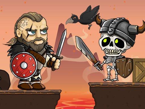 Juega Vikings vs Skeletons juego