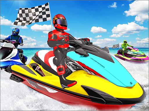 Juega Water Boat Racing juego