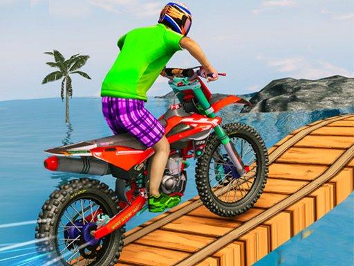 Juega Bike Stunt Race Master 3D Racing juego