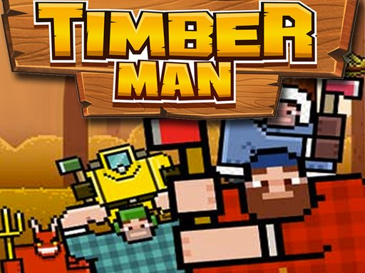Juega Timber Man Wood Chopper juego