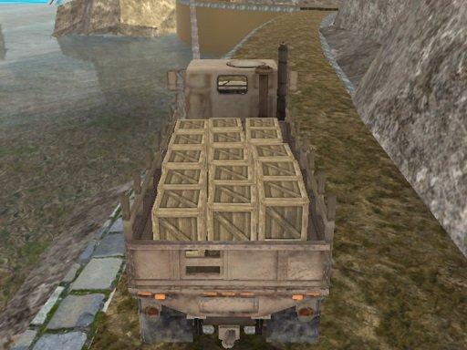 Juega Army Cargo Drive juego