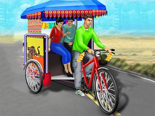 Juega Bicycle Rickshaw Simulator juego